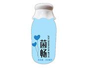 菌畅益生菌酸奶饮品350ml蓝