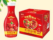 鑫养卫生榨山楂汁饮料1L×6瓶