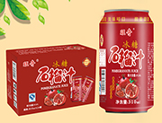旺奇冰糖石榴汁饮料310mL×24罐