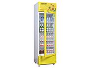 饮品展柜黄