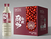 上首刷畅原磨红豆粗粮饮料1lx6瓶