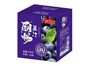 上首刷畅蓝莓汁饮料1lx6瓶