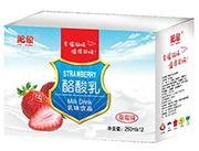 肥象草莓味酪酸乳乳味饮品250ml×12