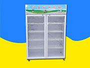 山东厂家现货直销双门学生牛奶加热柜 商用牛奶饮料加热柜子