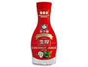 1.38L泰子椰生榨果肉椰子汁