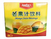 强力芒果汁饮料960ml×6瓶箱装