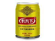 玛咖饮料黄罐