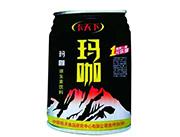 玛咖饮料黑罐