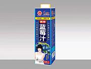 汇之果蓝莓汁1l盒装