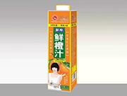 汇之果鲜橙汁1l