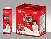 上首红豆汁粗粮饮品1000mlx6瓶