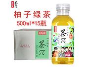 �r夫山泉 茶π 柚子�G茶 500ml