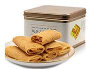 人人家358g\288g铁盒装手工折叠蛋卷传统工艺手工制作春季零食