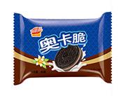 润德康奥卡脆巧克力夹心饼干灰