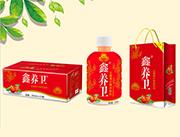 鑫养卫山楂果汁果肉饮料350ml×15瓶