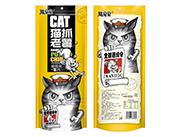 熊旦旦猫抓老薯香甜味猫耳朵+薯片袋装128g
