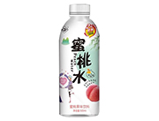 森宇蜜桃水果味�料500ml