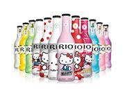 RIO锐澳鸡尾酒预调酒Hello-Kitty6瓶300ml