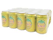 今有原菠�}啤果味型碳酸�料320ml×20罐