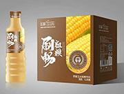 上首刷畅原磨玉米粗粮饮料1lx6瓶