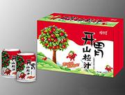 摇四季开胃山楂果肉果汁饮料240ml