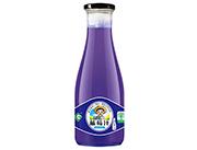 果浓蓝莓汁饮品1.5L瓶装