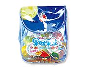 蜡笔小新果味果冻挎包500g(蓝)