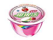 蜡笔小新草莓味大椰果果肉果冻30g