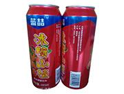 蓝�幢�糖山楂果味碳酸饮料490ml