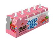 蜡笔小新酷能冰草莓味果汁饮料85g×5包