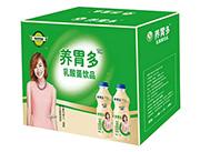养胃多乳酸菌饮品绿箱装