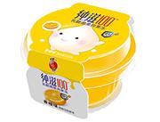 蜡笔小新纯滋100乳酸菌香橙味果肉果冻
