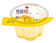 蜡笔小新纯滋100乳酸菌香橙味果汁果冻80g