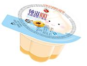 蜡笔小新纯滋100乳酸菌黄桃味果汁果冻80g