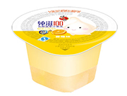 蜡笔小新纯滋100乳酸菌香橙味果汁果冻45g