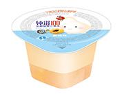 蜡笔小新纯滋100乳酸菌黄桃味果汁果冻45g