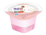 蜡笔小新纯滋100乳酸菌草莓味果汁果冻45g