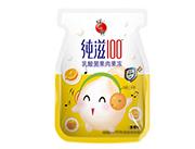 蜡笔小新纯滋100乳酸菌香橙味果肉果冻200g