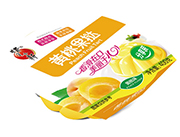 蜡笔小新黄桃味果挞果肉果冻分享装400g