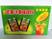 浓情果园冰糖芒果汁果味饮料箱装