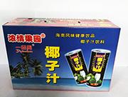浓情果园一品周椰子汁箱装
