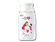 甄卫草莓味乳酸菌饮品400ml