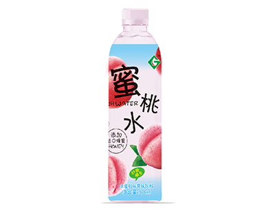 果浓蜜桃水水蜜桃味果味饮料500ml