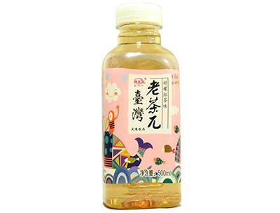 琪米尔台湾老茶π柠檬红茶味风味饮品500ml