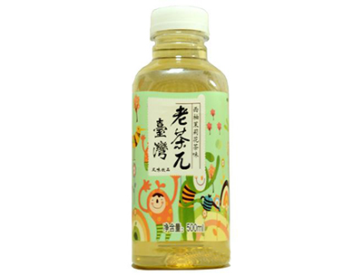 琪米尔台湾老茶π西柚茉莉花茶味风味饮品500ml