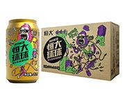恒大球球维生素能量饮料(猴子)310mlx24罐