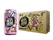 恒大球球维生素能量饮料(兔子)310mlx24罐