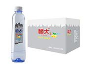 恒大苏打水饮料柠檬味500mlx24瓶