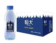 恒大原味苏打水饮料360mlx24瓶