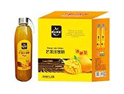 鹏达果缘发酵型芒果汁饮料1LX6瓶